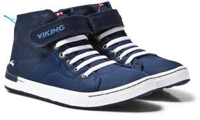 Viking Navy/White Frogner MID Trainers