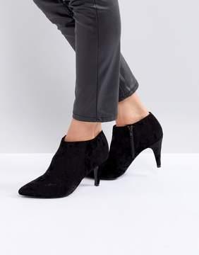 New Look Velvet Point Ankle Boot