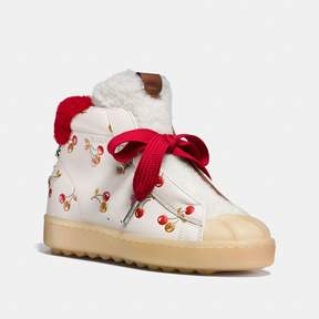 Coach New YorkCoach High Top Hiker In Cherry Print