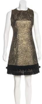 Andrew Gn 2017 Sleeveless Brocade Dress