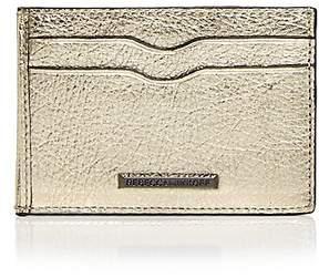 Rebecca Minkoff Metro Leather Card Case - BLACK/GUNMETAL - STYLE
