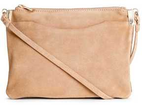 H&M Suede Shoulder Bag