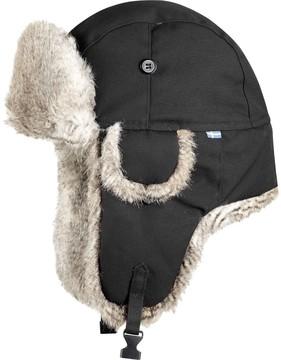 Dark Grey Nordic Heater Hat
