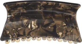 Elle Black Pearl Acrylic Jawclip