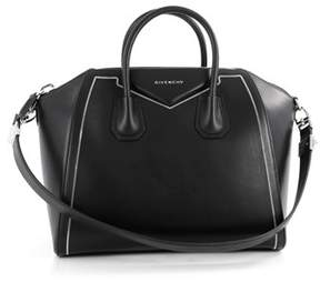 Givenchy Pre-owned Antigona Bag Leather With Chain Detail Medium.