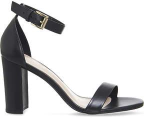 Office Nina block heel leather sandals