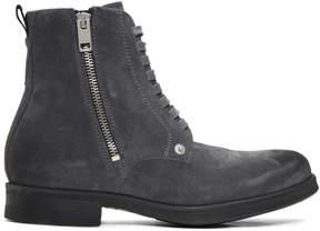 Diesel Grey D-Vicious Boots