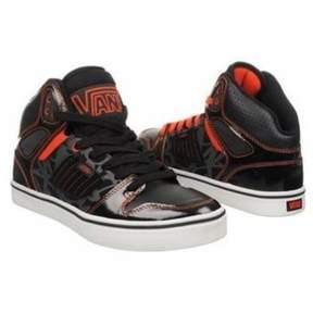Vans Unisex Allred Sneakers Black M13 W14.5