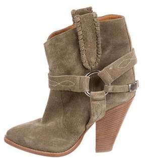 Etoile Isabel Marant Suede Pointed-Toe Ankle Boots