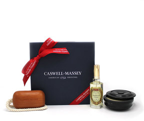 Caswell-Massey Sandalwood Grooming Favorites Gift Set by 3pc Gift Box)