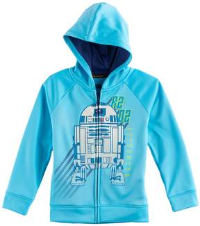 Star Wars A Collection For Kohls Boys 4-7x a Collection for Kohl's Glow-in-the-Dark R2-D2 Zipper Hoodie