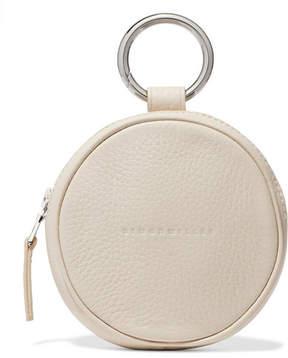 Simon Miller Circle Pop Textured-leather Pouch - Cream