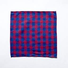 Blade + Blue Burgundy & Blue Flannel Pocket Square
