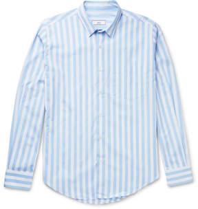 Ami Striped Cotton Shirt