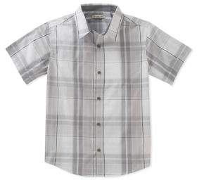Calvin Klein Jeans Boy's Conversion Plaid Shirt