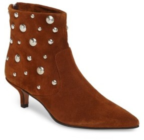 Topshop Women's Ascot Studded Pointy Toe Bootie