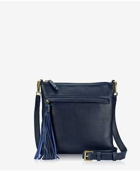 GiGi New York | Scout Crossbody In Ink Napa Luxe | Ink napa luxe