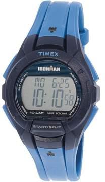 Timex Men's Ironman 10 TW5M11400 Blue Silicone Quartz Sport Watch