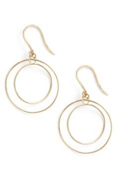 Bony Levy Women's Double Circle Orbital Drop Earrings (Nordstrom Exclusive)