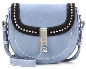 Altuzarra Ghianda Saddle Mini suede shoulder bag