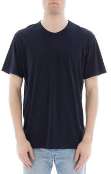 James Perse Men's Blue Cotton T-shirt.