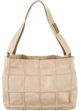 Max Mara Square Quilted Shoulder Bag