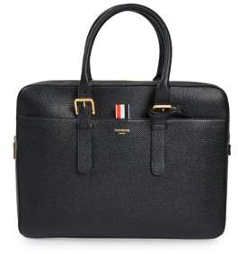 Thom Browne Pebble Grain Leather Business Bag