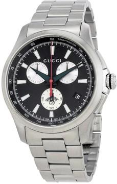 Gucci G-Timeless Chronograph Black Dial Men's Watch
