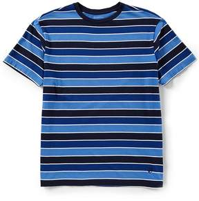 Daniel Cremieux Multi Stripe Jersey Short-Sleeve Tee