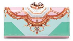 Ted Baker Althea Versailles Bobble Matinee Leather Wallet