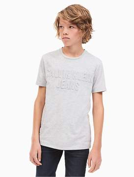 Calvin Klein Jeans Boys Tonal Logo T-Shirt
