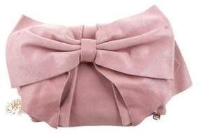 RED Valentino Leather Bow Crossbody Bag