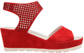 Gabor Women's 45-741 Perforated Strap Wedge Sandal