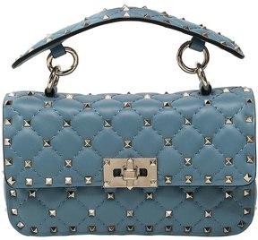 Small Spike Leather Shoulder Bag