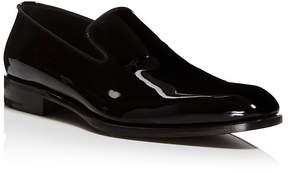 Salvatore Ferragamo Men's Class Patent Leather Loafers