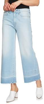 1 STATE 1.STATE Released Hem Wide Leg Jeans