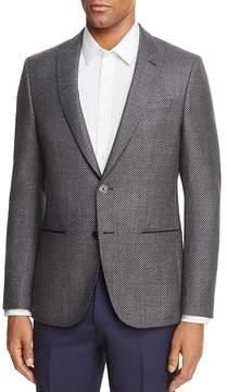 HUGO Large Birdseye Regular Fit Sport Coat