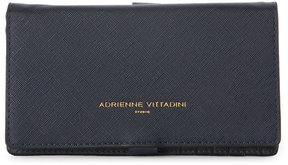 adrienne vittadini Navy Charging Crossbody Wallet