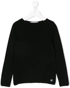 Simonetta round neck cashmere jumper