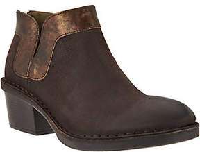 Fly London Leather Ankle Boots -Dias
