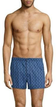 Marc by Marc Jacobs Bellflower-Print Cotton Boxer Shorts