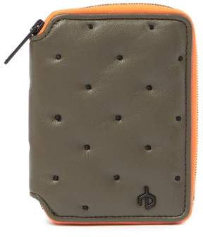Rag & Bone Dot Dash Leather Zip Wallet