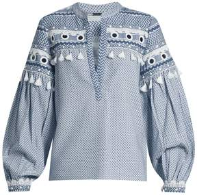 DAY Birger et Mikkelsen DODO BAR OR Nathanaiel tassel-embellished cotton top