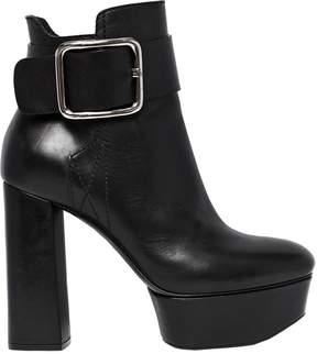 Casadei 120mm Elena Perminova Leather Boots