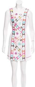 Calypso Embroidered Sleeveless Dress