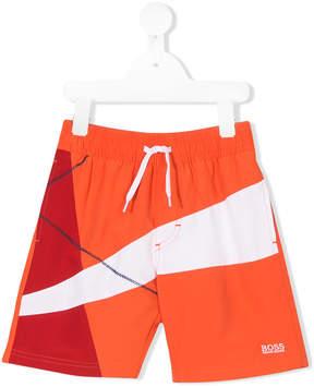 Trunks Boss Kids drawstring waist swim shorts