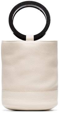 Simon Miller cream bonsai 15 leather bucket bag