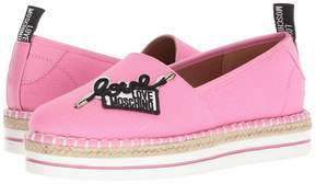 Love Moschino Canvas Espadrille Women's Shoes