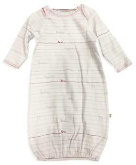 ED Ellen Degeneres Baby Girl's Envelope Neck Cotton Gown