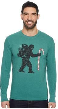 Life is Good Wild Man Candy Long Sleeve Crusher Tee Men's T Shirt